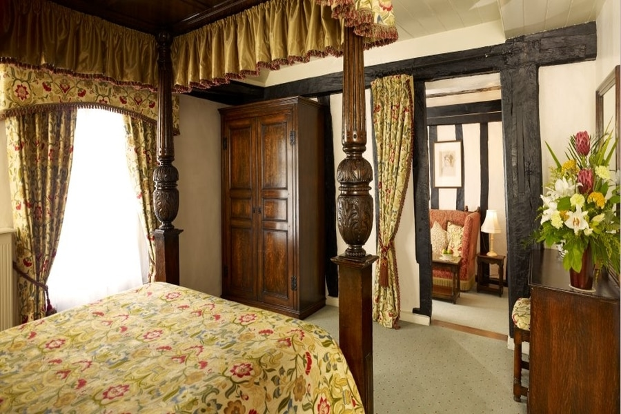 Tudor Suites and Rooms at Marygreen Manor House in Brentwood, Essex, UK