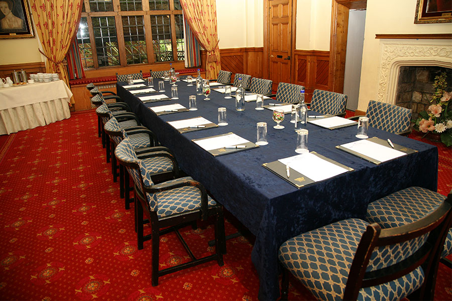 Meeting room at Marygreen Manor House in Brentwood, Essex, UK